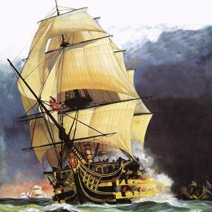Hms Victory by Andrew Howat