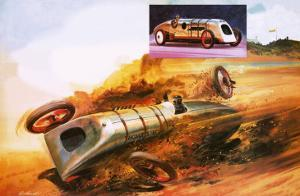 Parry Thomas's Attempt to Regain the Land Speed Record by Andrew Howat