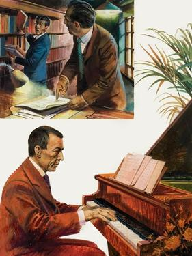 Portrait of Sergei Rachmaninov by Andrew Howat