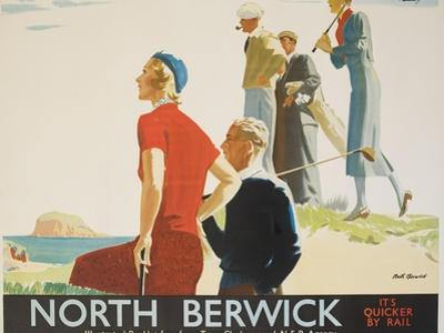 North Berwick Poster by Andrew Johnson