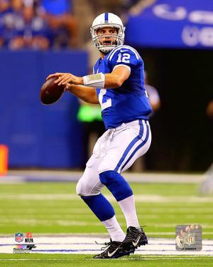 Andrew Luck 2015 Action