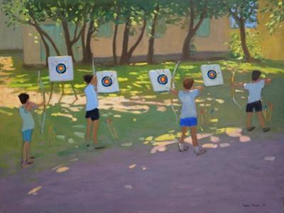 Archery Practise, France by Andrew Macara