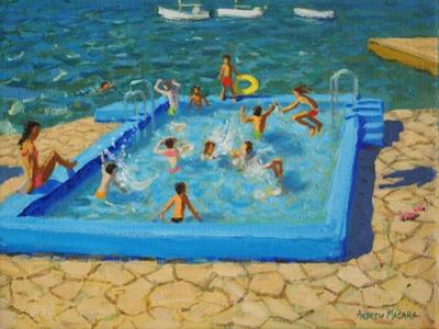 Blue Pool, Vrsar, Croatia, 2017 by Andrew Macara