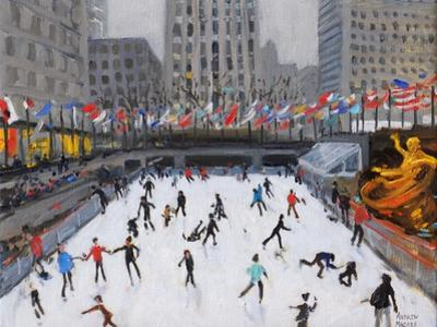 Christmas Skating, Rockerfeller Ice Rink, New York, 2017 by Andrew Macara