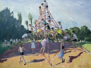 Playground, Derby, 1990 by Andrew Macara
