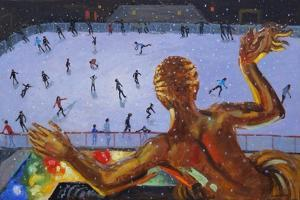 Prometheus , Rockefeller Ice Rink, New York, 2018 by Andrew Macara