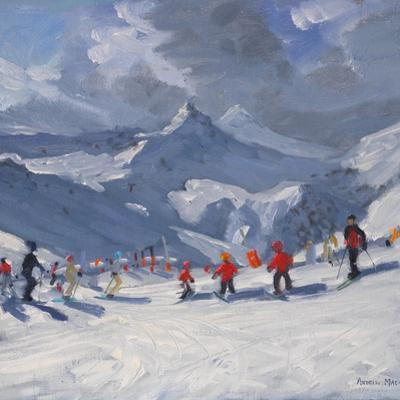 Ski School, Tignes, 2009 by Andrew Macara