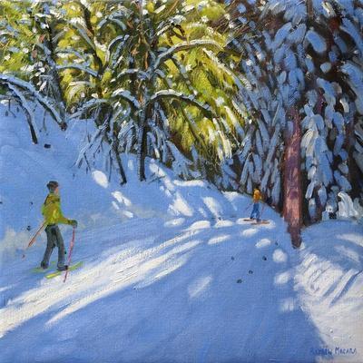 Skiing Through the Woods, La Clusaz, 2012