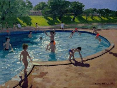 Swimming Pool, 1999 by Andrew Macara