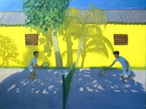 Tennis Cuba, 1998 by Andrew Macara