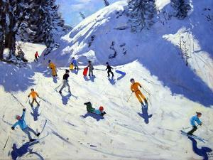 The Gully, Belle Plagne, 2004 by Andrew Macara