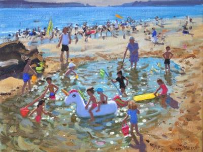 The Unicorn, Tenby, 2017 by Andrew Macara