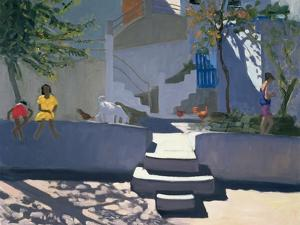 The Yellow Dress, Kos, 1993 by Andrew Macara