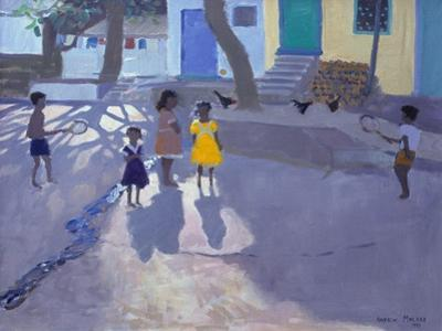 The Yellow Dress, Udaipur, India , 1990 by Andrew Macara