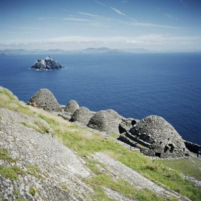 Ancient Monastic Settlement in Skellig Michael, County Kerry, Munster, Republic of Ireland