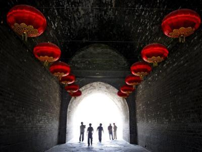 South Gate of the Ancient City Walls, Xi'An, China, Asia