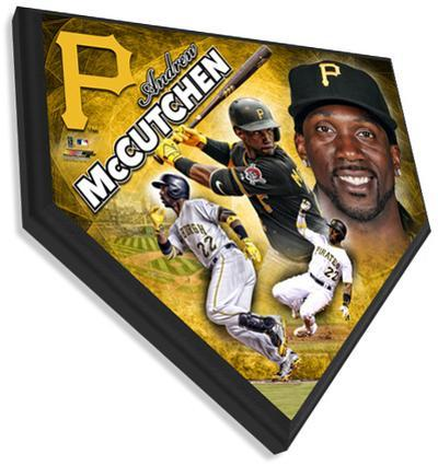 Andrew McCutchen Home Plate Plaque