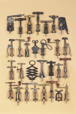 Vintage Corkscrews by Andrew Rose
