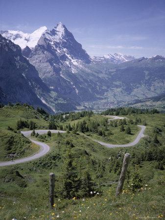 The Eiger, 3970M, Bernese Oberland, Alps, Switzerland