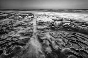 Coastal Texture Along the La Jolla Coastline by Andrew Shoemaker