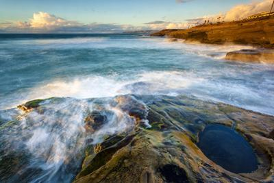 Rock Formations Along the Coastline Near Sunset Cliffs, San Diego, Ca by Andrew Shoemaker