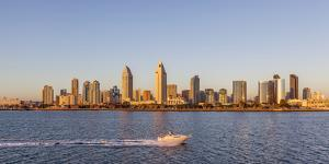 San Diego's Skyline as Seen at Sunset by Andrew Shoemaker