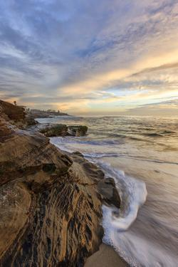 Sunset at Windansea Beach in La Jolla, Ca by Andrew Shoemaker