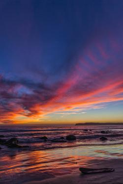 Sunset over the Pacific from Coronado by Andrew Shoemaker