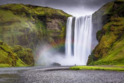 Skogafoss Waterfall Situated on the Skoga River in the South Region, Iceland, Polar Regions by Andrew Sproule