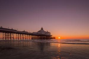 Sunrise at Eastbourne Pier, Eastbourne, East Sussex, England, United Kingdom, Europe by Andrew Sproule
