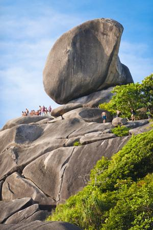 Rock Formations of Ko Similan Beach, Phuket Island, Phuket, Thailand, Southeast Asia, Asia