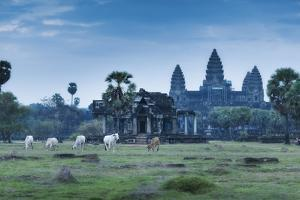 Temple Complex of Angkor Wat, Angkor, UNESCO World Heritage Site, Siem Reap, Cambodia, Indochina by Andrew Stewart