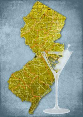 NJ Martini Blue by Andrew Sullivan
