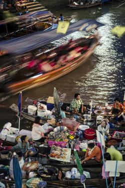 Amphawa Weekend Market, Amphawa, Thailand, Southeast Asia, Asia by Andrew Taylor