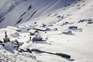 Annapurna Base Camp, 4130M, Annapurna Conservation Area, Nepal, Himalayas, Asia by Andrew Taylor