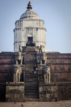 Fasidega Temple, Durbar Square, Bhaktapur, UNESCO World Heritage Site, Nepal, Asia by Andrew Taylor