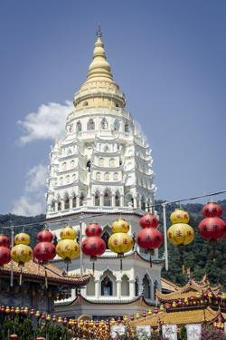 Kek Lok Si Temple During Chinese New Year Period, Penang, Malaysia, Southeast Asia, Asia by Andrew Taylor