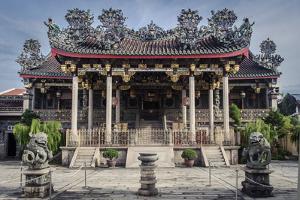 Khoo Kongsi, Chinatown, Penang, Malaysia, Southeast Asia, Asia by Andrew Taylor