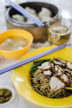 Pork Noodles (Mee), Served by Andrew Taylor