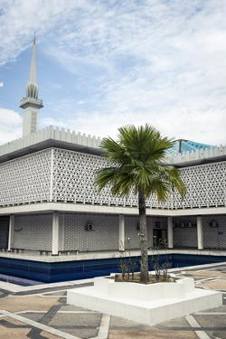 The National Mosque of Malaysia, Kuala Lumpur, Malaysia, Southeast Asia, Asia by Andrew Taylor