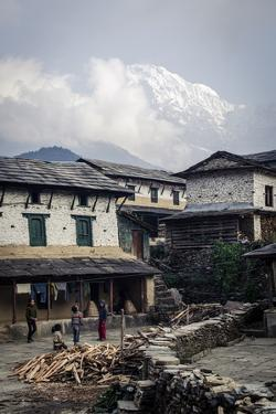 The Village of Ghandruk by Andrew Taylor