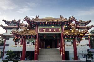 Thean Hou Temple, Kuala Lumpur, Malaysia, Southeast Asia, Asia by Andrew Taylor