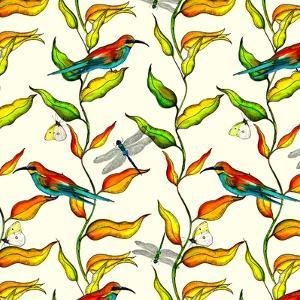 Bee Eaters, 2017 by Andrew Watson