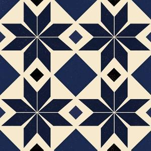 Blue Spanish tile, 2018 by Andrew Watson