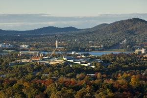 Canberra Cityscape by Andrew Watson