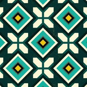 Green Spanish tile, 2018 by Andrew Watson