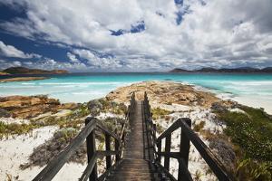 View along Boardwalk to Coastal Scenery by Andrew Watson