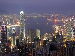 View over Hong Kong from Victoria Peak by Andrew Watson