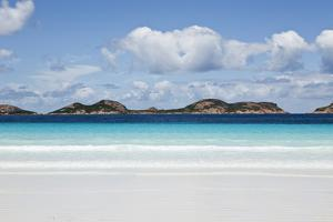 White Sand Beach with Turquoise Waters by Andrew Watson