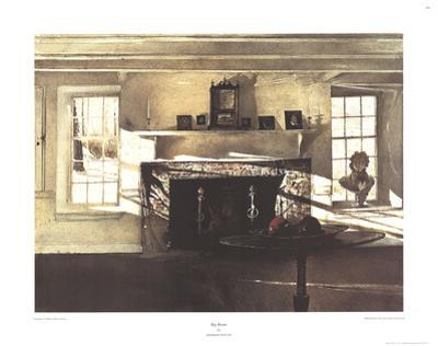 Big Room by Andrew Wyeth